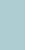 Duck egg blue & Off white