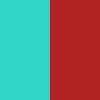 Turquoise &Red