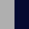 Grey & Navy Blue