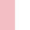 Powder pink & Off white