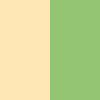 Golden peach & pista green