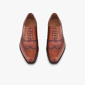 Kinsale Tan Brogue Shoes