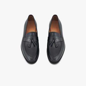 Southwark Big Tassel Black Slip-on